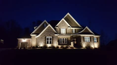 Custom Landscape Lighting Custom Landscape Lighting Design In Summerfield Nc