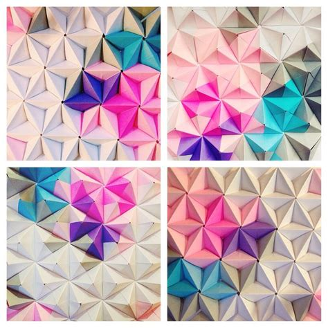 Origami Wall - 1000 ideas about origami wall on paper