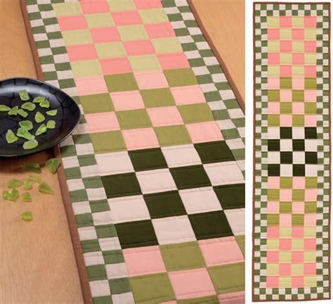 pattern table games classic to modern table runner patterns giveaway