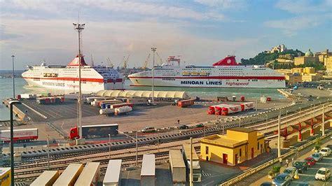 igoumenitsa porto check in e imbarco minoan lines