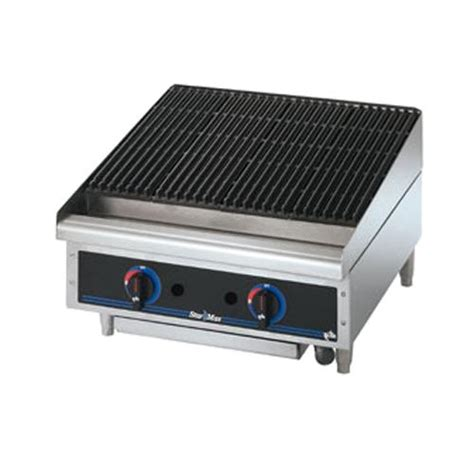 Countertop Broiler by 6124rcbf Max 174 24 In Radiant Gas Charbroiler