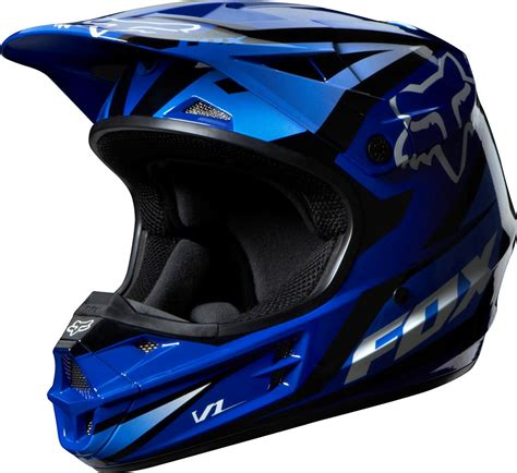 blue motocross gear blue atv helmet car interior design