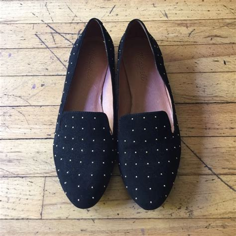 madewell teddy loafer 57 madewell shoes madewell studded suede teddy