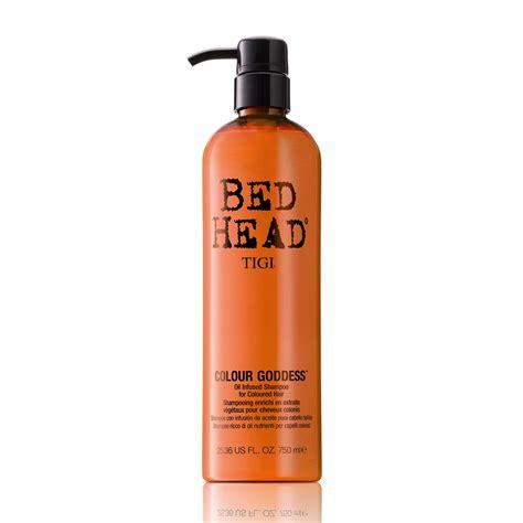 bed head colour goddess tigi bed head colour goddess oil infused shoo 750ml