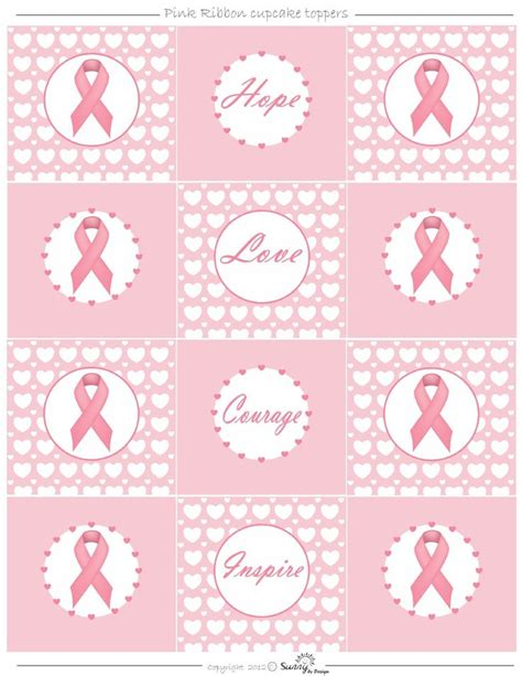 printable paper ribbon 315 best images about breast cancer printables on