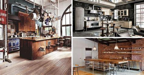Industrie Look Le cuisine industrielle 43 inspirations pour un style