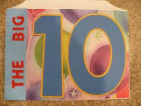 birthday card 10 year boy 2010 march