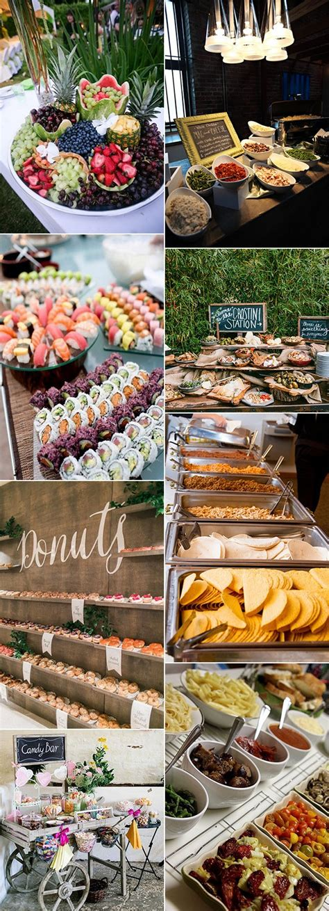 Great Wedding Ideas by 20 Great Wedding Food Station Ideas For Your Reception
