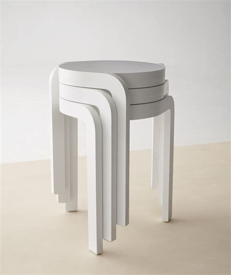 Stackable Stool by Spin Stackable Stool Stools From Swedese Architonic