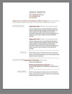 Sample Resume 85 Free examplefree resume builder with 85 charming resume templates word free