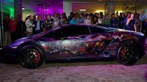Fast And Furious 7 Lamborghini Artist Gets 375 000 Lamborghini As A Canvas For Wa