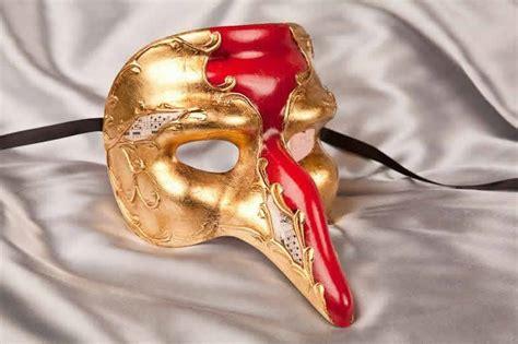 Masker Hidung Nose Gold Mask Terjamin captain gold il capitano snub nose beak mask ebay