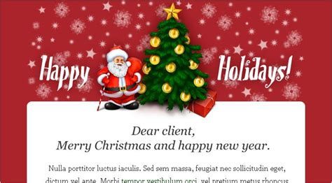 christmas email card  simple  nice    mary christmas   happy  year