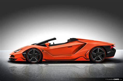 Cars Like Lamborghini by This Is What Lamborghini Centenario Roadster Should Look Like