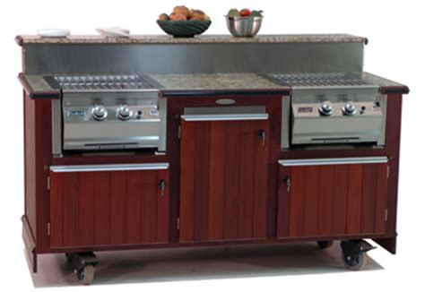 Kitchen Islands Movable by Custom Outdoor Kitchens Buffets Bars Grills Custom Mobile