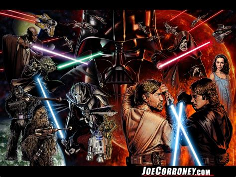saga of the sw the star wars saga by joe corroney star wars wallpaper 25252399 fanpop