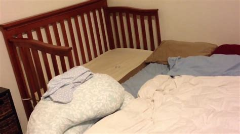 cribs that attach to side of bed half crib that attaches to bed whatu0027s a dropside