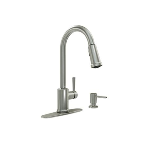 moen kitchen faucet pull out spray replacement faucet 87090msrs in spot resist stainless by moen