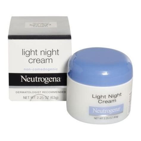 neutrogena light night cream neutrogena light night cream heal beau