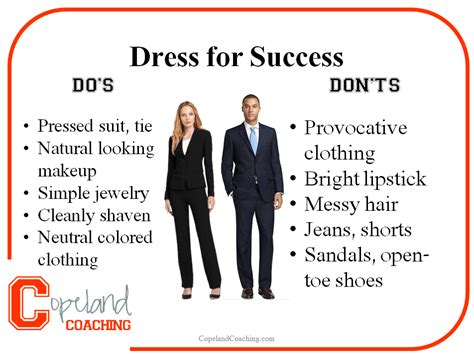 Dressing for Career Success - Copeland Coaching