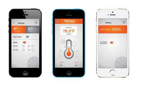 room temperature iphone app monitor temperature and humidity smartly with tempi