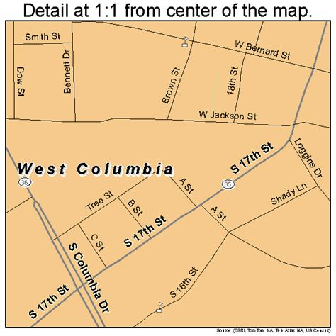 west columbia texas map west columbia texas map 4877416
