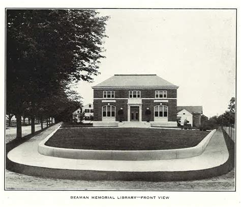 haish memorial library historical preservation addition beaman library named to the national register of historic