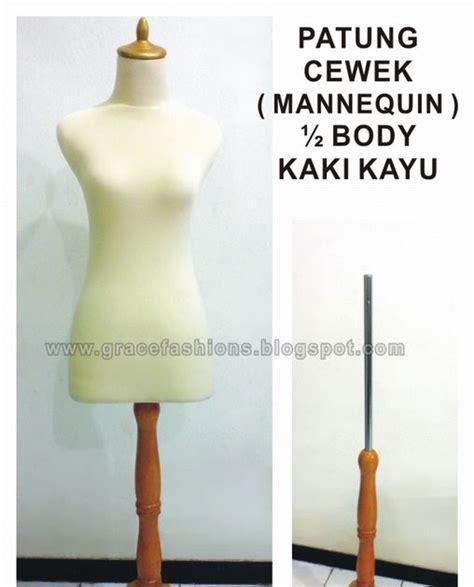 Hanger Mikabody 1 2 Badan Cewek Pajangan Baju Butik Toko Fashin Wanita pusat manekin mannequin mannequin tiang kaki kayu