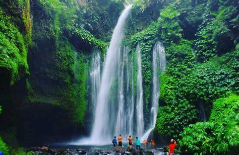 mengenali keindahan air terjun sendang gile lombok