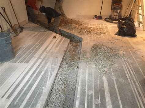 Plumbing Trench by Demolition R J Deluca And Llc
