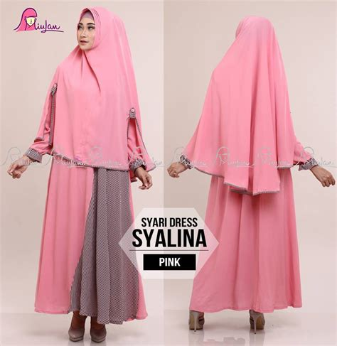 Dress Syari syari dress syalina pink miulan boutique