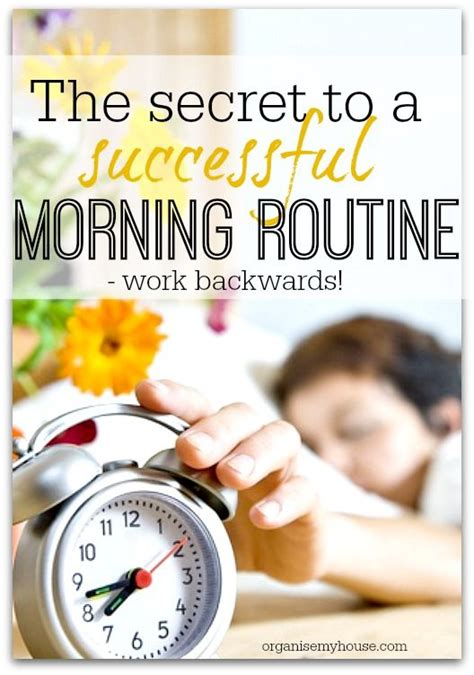 the secret to a successful step by step guide 2017 edition books the secret to a successful morning routine work