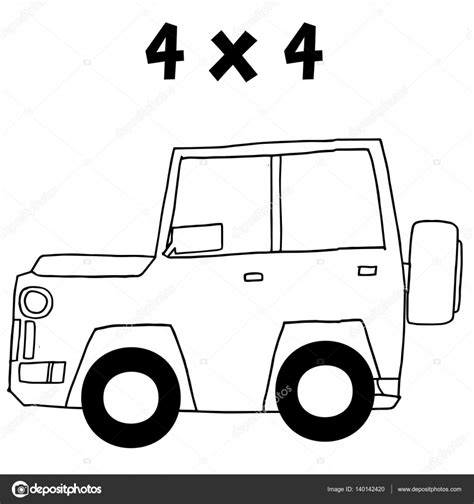 jeep illustration jeep of vector illustration stock vector