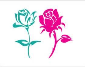 Preppy Home Decor Rose Flower Svg Etsy
