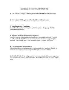 Certification Letter Of Compliance Rohs Compliance Certificate Template