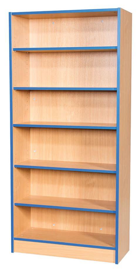 folio flat top bookcase 750mm wide 6 shelves