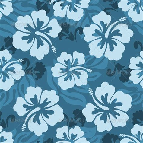 hawaii pattern free hawaiian seamless pattern nature pattern fabric flowers