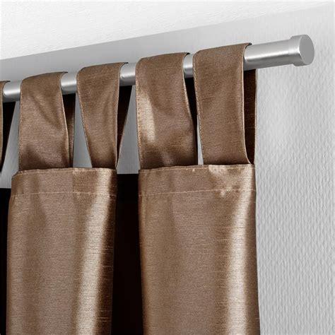 schlaufenvorhang blickdicht schlaufenschal dekoschal gardine vorhang schlaufenvorhang