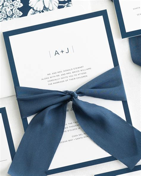 wedding ribbon sophisticated modern ribbon wedding invitations ribbon