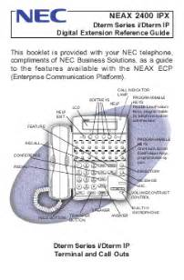 nec telephone neax 2400 ipx user s guide manualsonline com