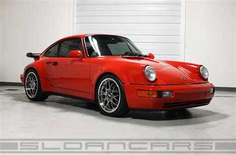 porsche 964 red 1991 porsche 964 c2 turbo guards red 43 172 miles sloan cars