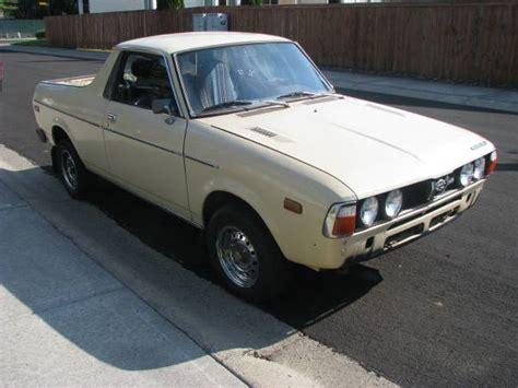 1978 Subaru Brat Troubled Child 1978 Subaru Brat But Trusty