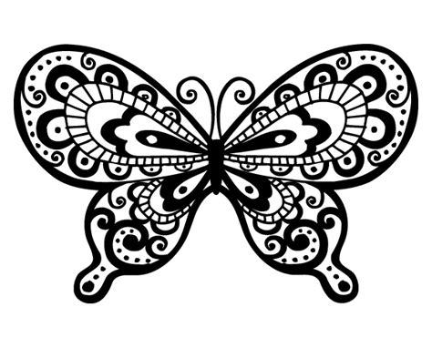 imagenes de mariposas bonitas para colorear dibujo de mariposa bonita para colorear dibujos net