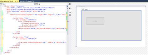 xaml layout system visual studio 2015 xaml designer not showing with system