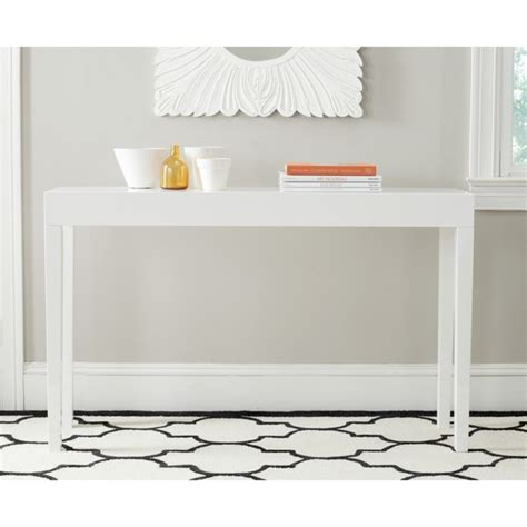 White Lacquer Console Table Product Selections Homesfeed White Lacquer Sofa Table