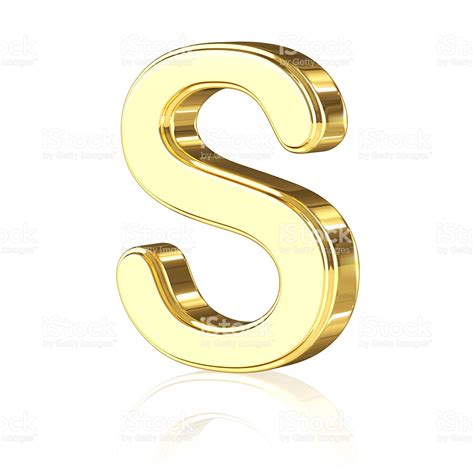 where is a s gold letter s stock photo more pictures of 2015 istock