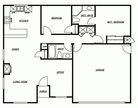 door floor plan contemporary floor plans for new homes 28 images 1000