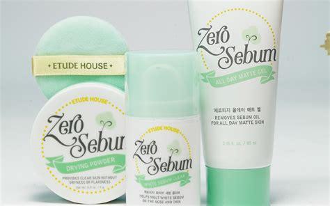Bedak Etude House Zero Sebum review etude house zero sebum range