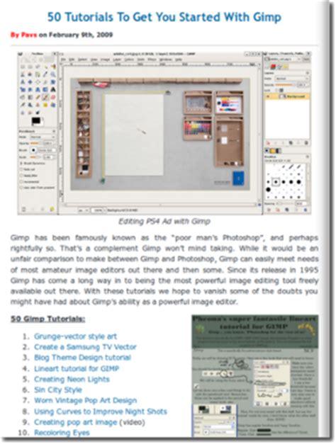 tutorial gimp bildbearbeitung gimp archive gt linux open source blog