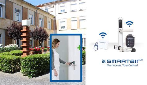 assa abloy smartair secures plona care home security